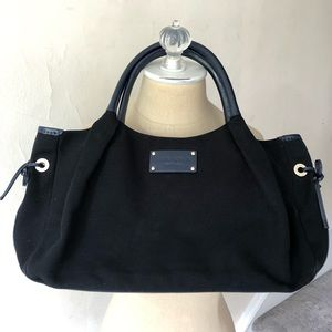 Kate Spade Canvas Patent Leather Stevie Diaper Bag